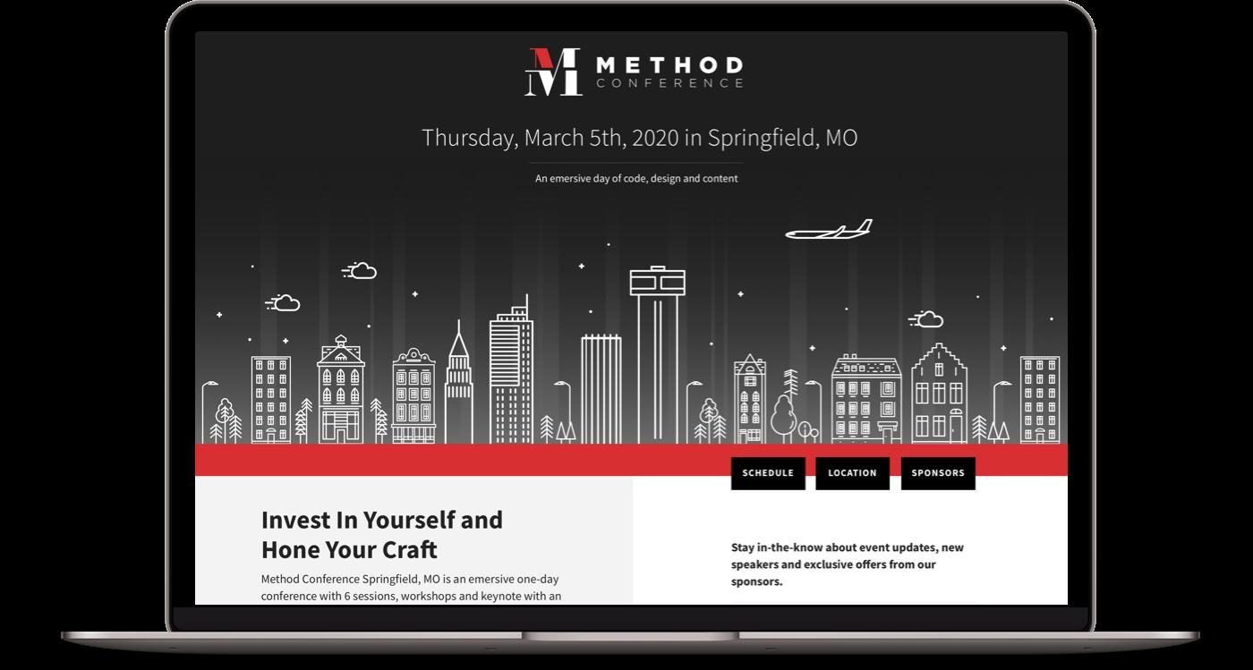 Method Conference Desktop Design
