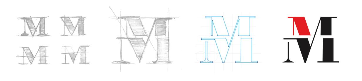 Method Logo Sketch Process