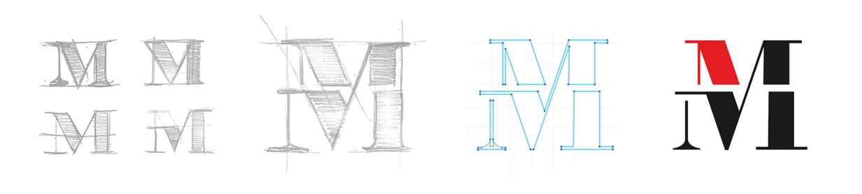 Method Logo Sketch Process
