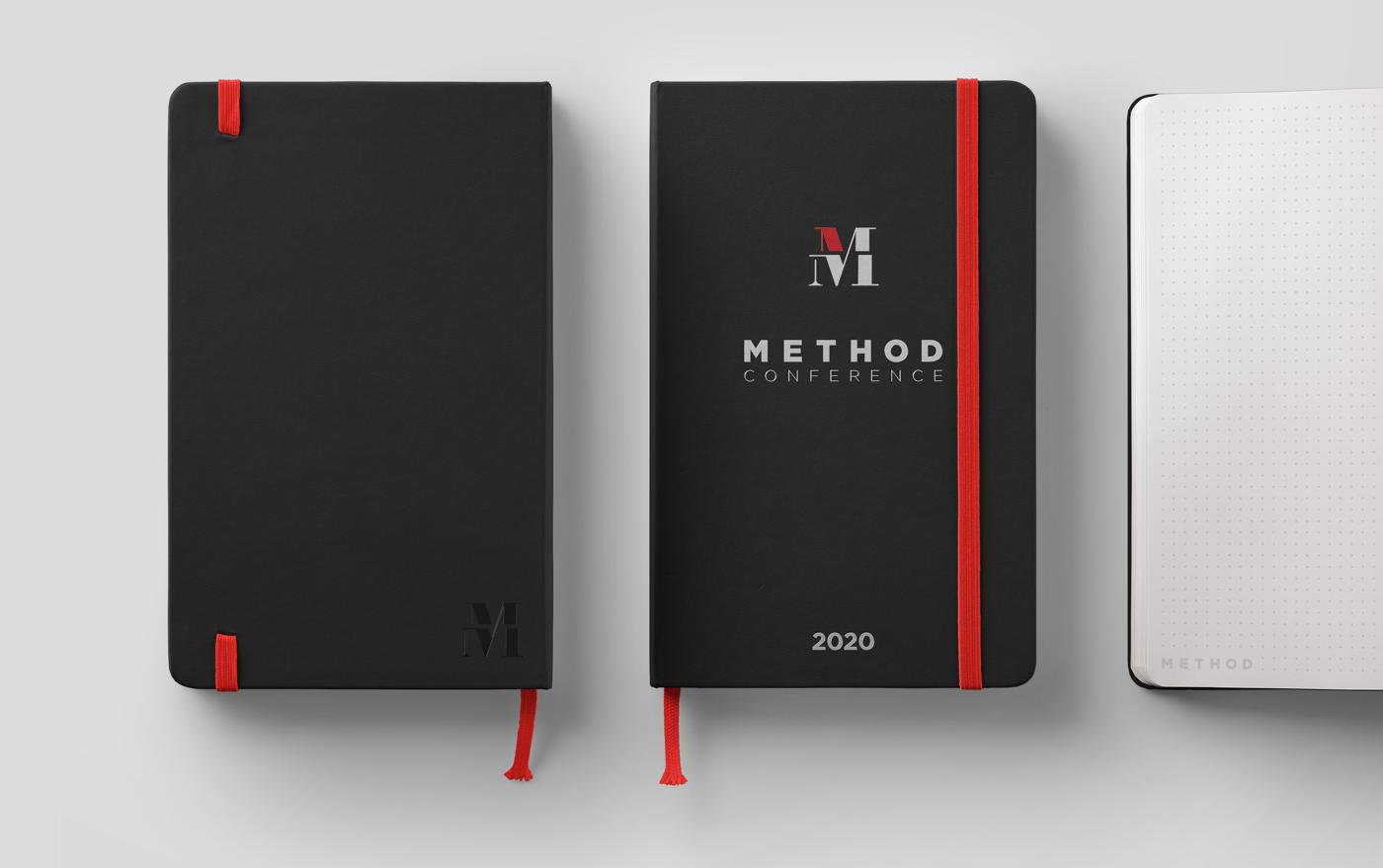 Method Notebook Design Branding