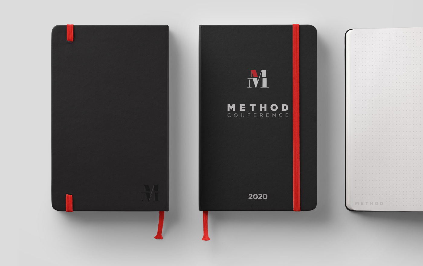 Method Notebook Design Branding