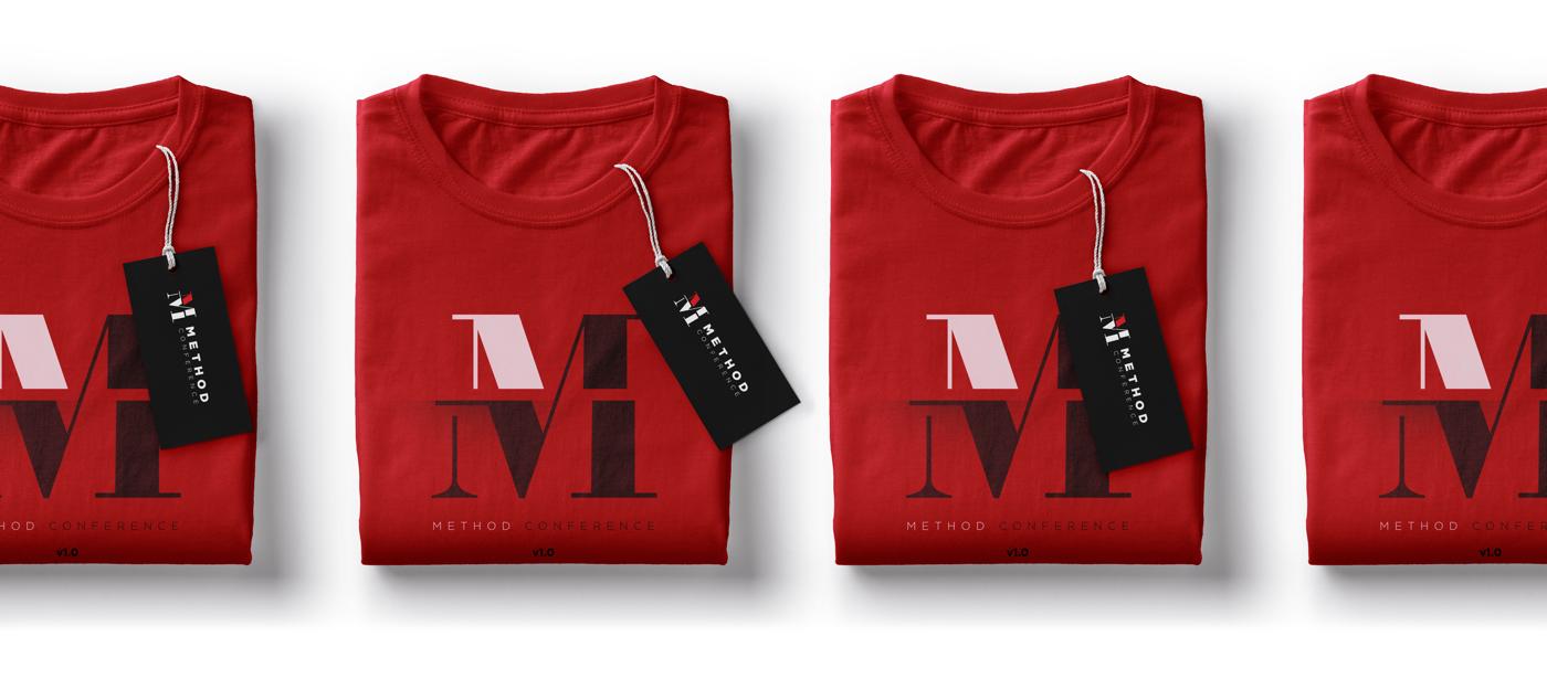 Method Conference T-Shirt Mockup